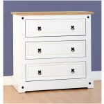 CORONA 3 DRAWER WHITE JULY 2015 01